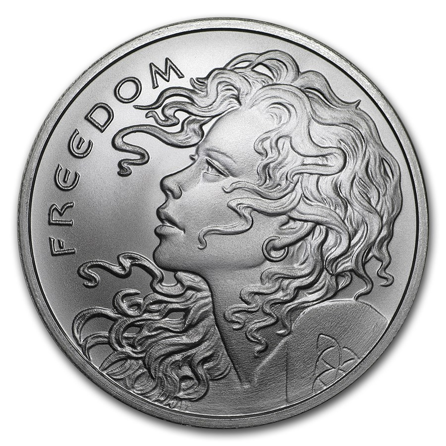 Freedom Girl 2018 1oz
