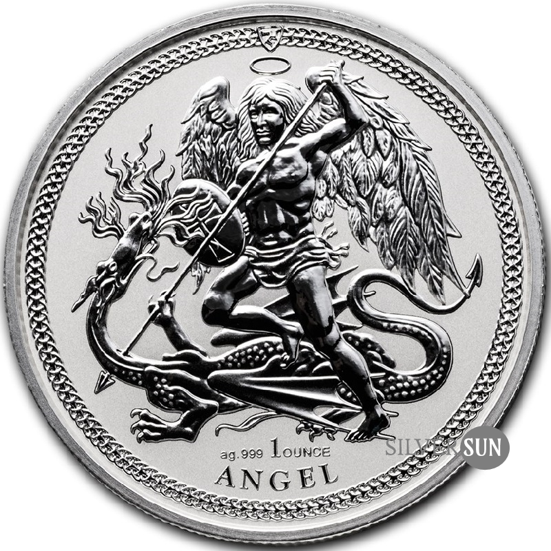 Isle of Man - Angel 2017 (Anjel) 1oz