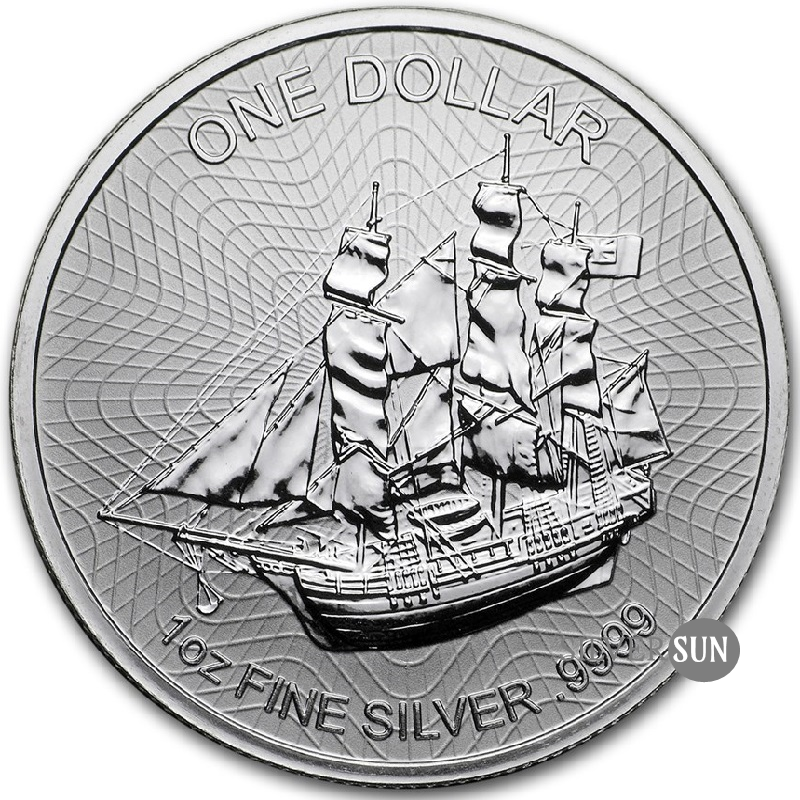 Cook Islands - Bounty 2018 1oz