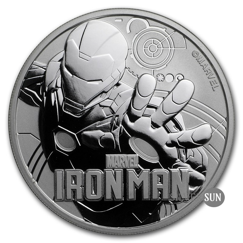 Iron Man 2018 (Tuvalu - Marvel séria) 1oz