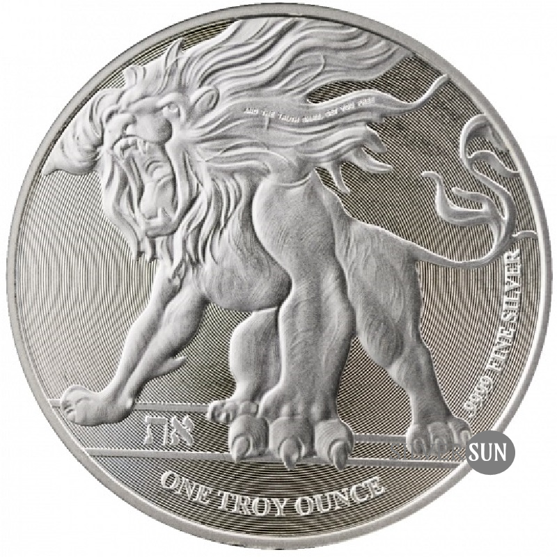 Niue - Roaring Lion of Judah 2018 1oz