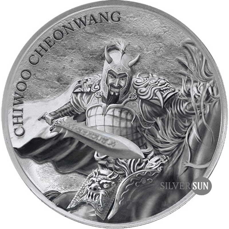 Republic of Korea - Chiwoo Cheonwang 2018 1oz