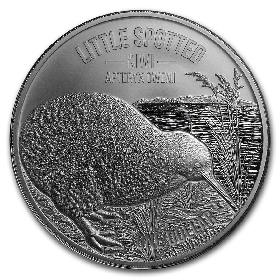 Kiwi - Little spotted kiwi 2018 (kivi pásikavý) 1oz