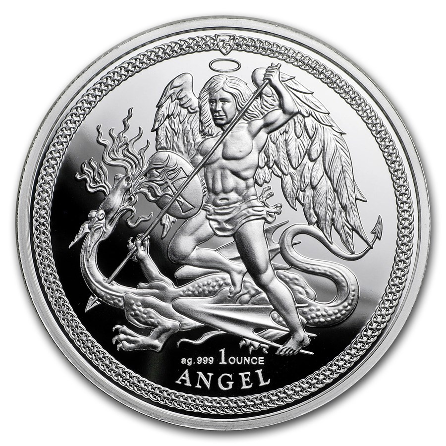 Isle of Man - Angel 2018 (Anjel) 1oz