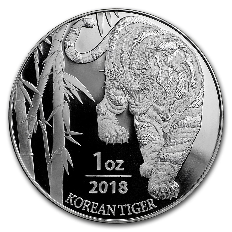Korean Tiger 2018 1oz