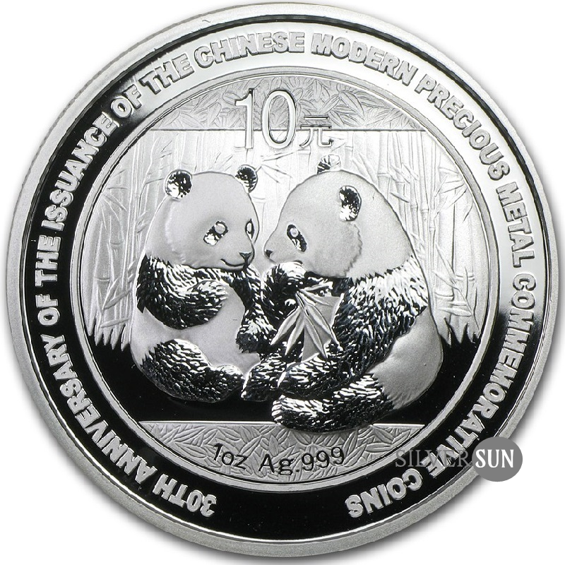 Panda 2009 30th Anniversary 1oz