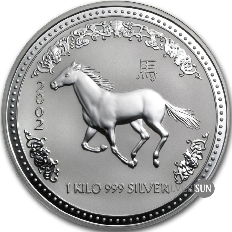 Year of the Horse 2002 (Lunar I - Rok koňa) 1kg