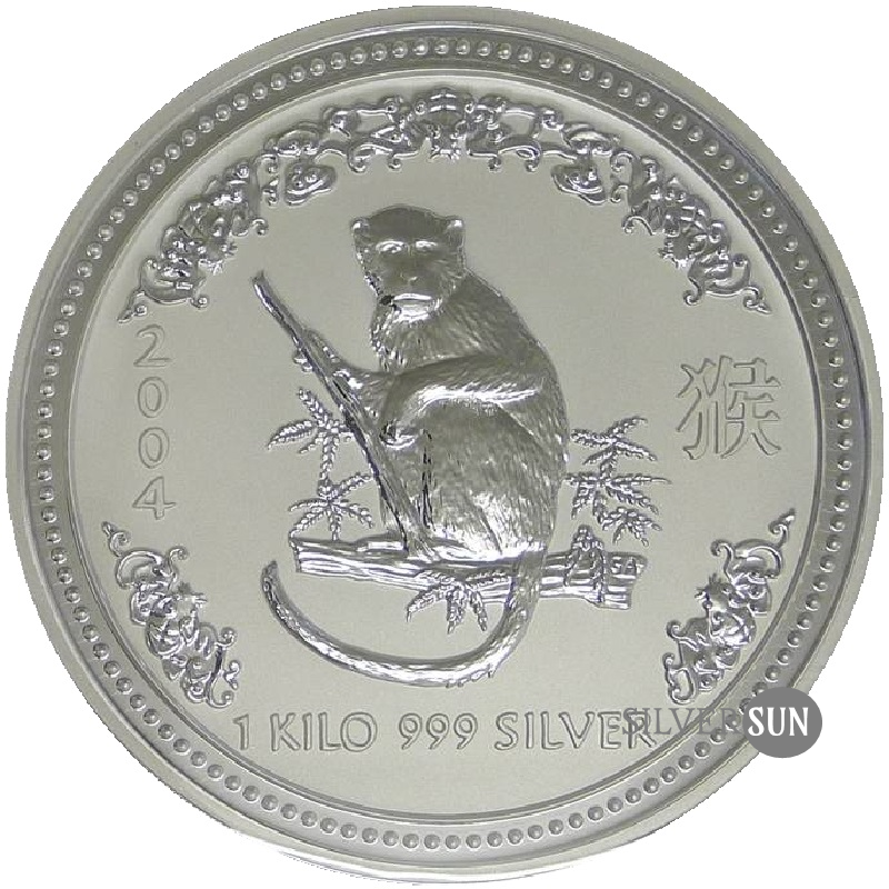 Year of the Monkey 2004 (Lunar I - Rok opice) 1kg