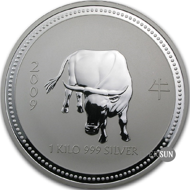 Year of the Ox 2009 (Lunar I - Rok vola) 1kg
