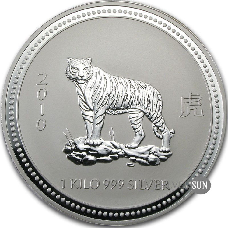 Year of the Tiger 2010 (Lunar I - Rok tigra) 1kg