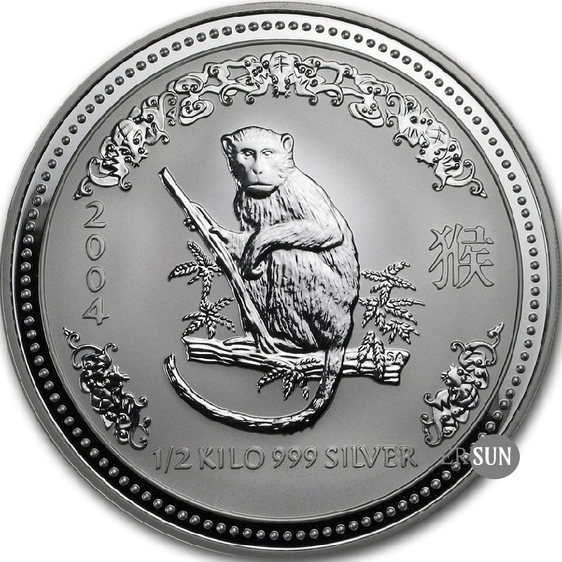 Year of the Monkey 2004 (Lunar I - Rok opice) 0,5kg