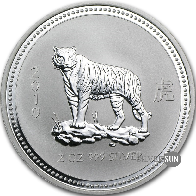Year of the Tiger 2010 (Lunar I - Rok tigra) 2oz