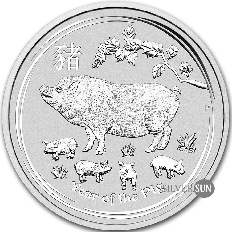 Year of the Pig 2019 (Lunar II - Rok prasaťa) 1kg