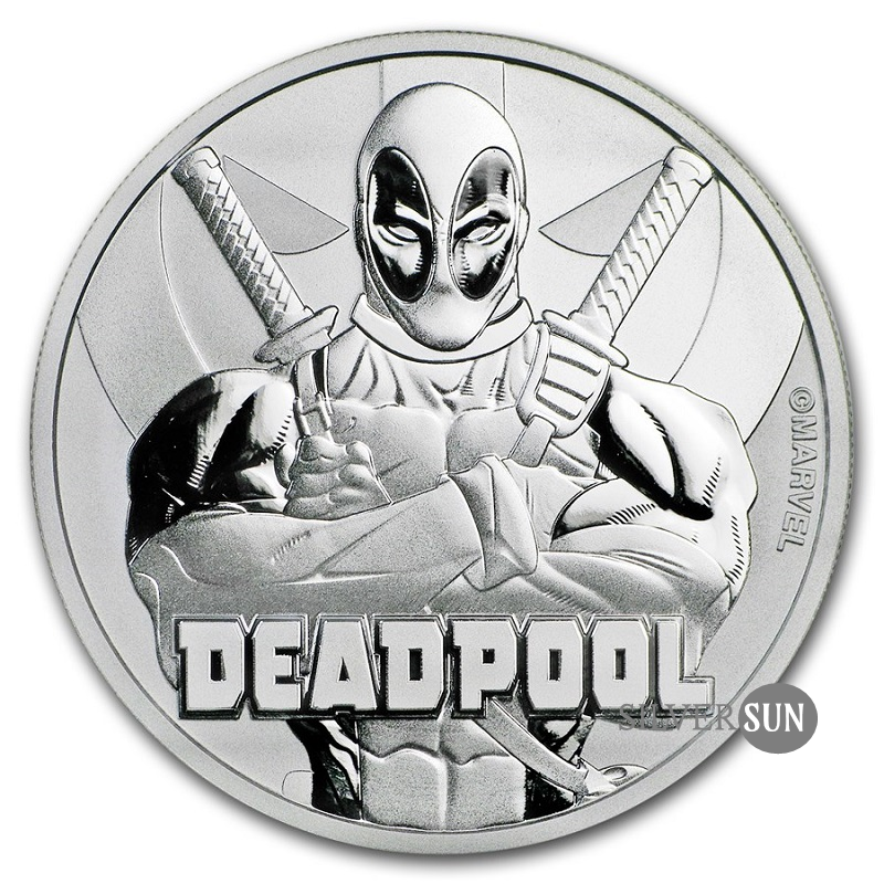 Deadpool 2018 (Tuvalu - Marvel séria) 1oz