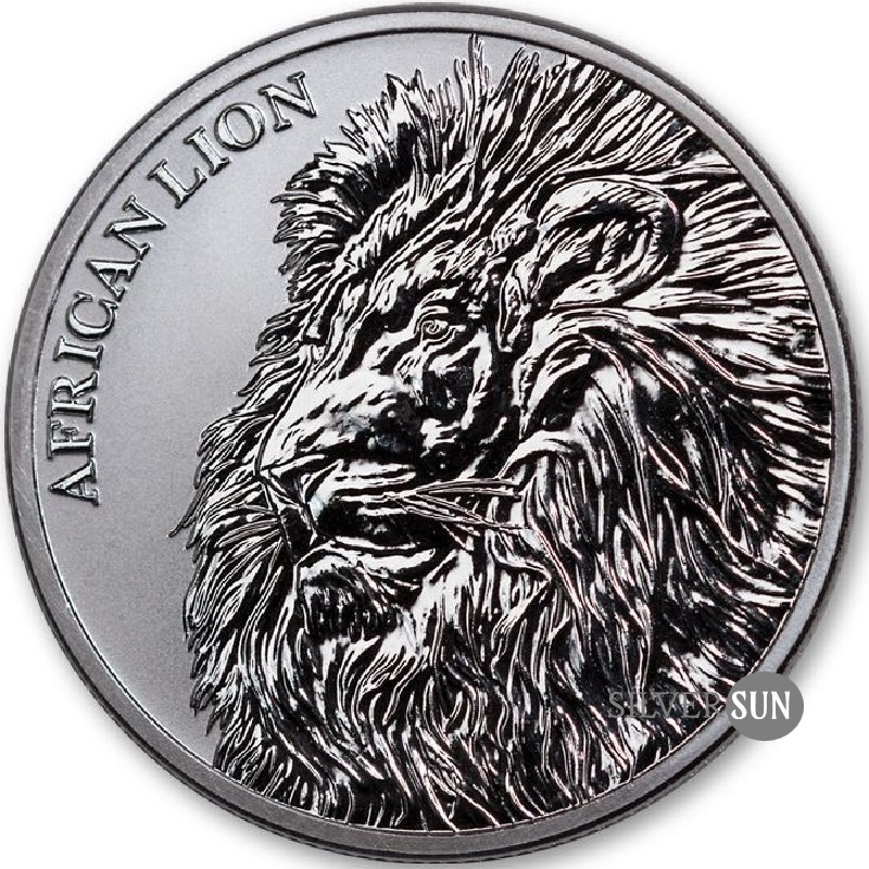 Republic of Chad - African Lion 2018 1oz
