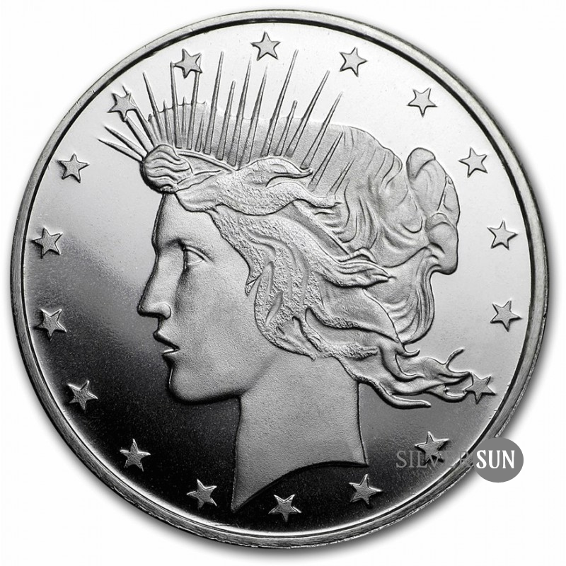 Peace Dollar 1oz