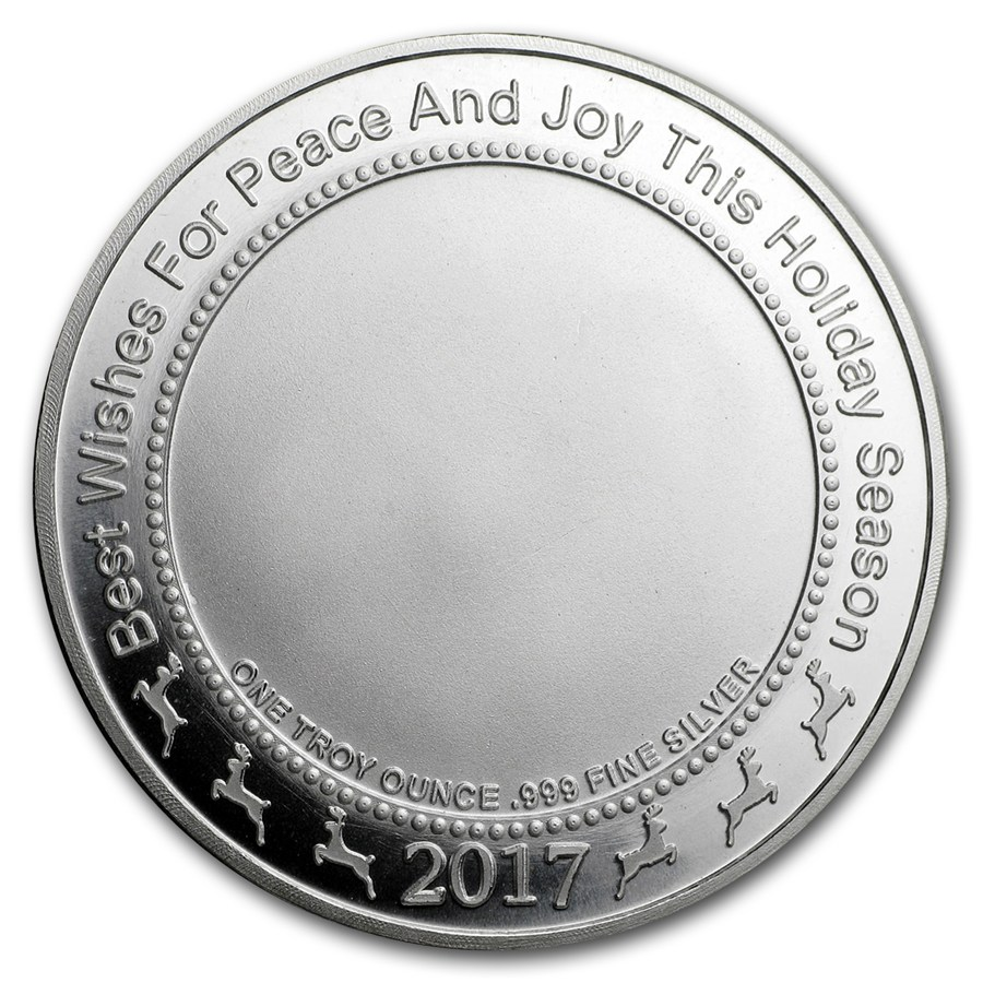 Peace - Dove (Holubica) 2017 1oz