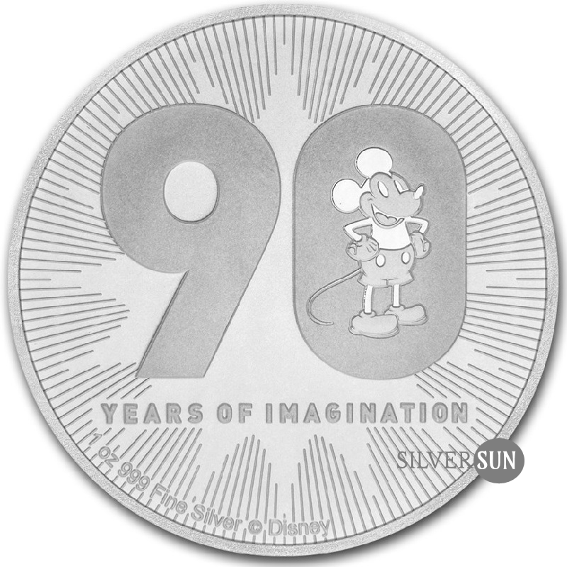 Niue - Disney - Mickey´s 90th Anniversary 2018 (90. výročie Mickey Mouse) 1oz