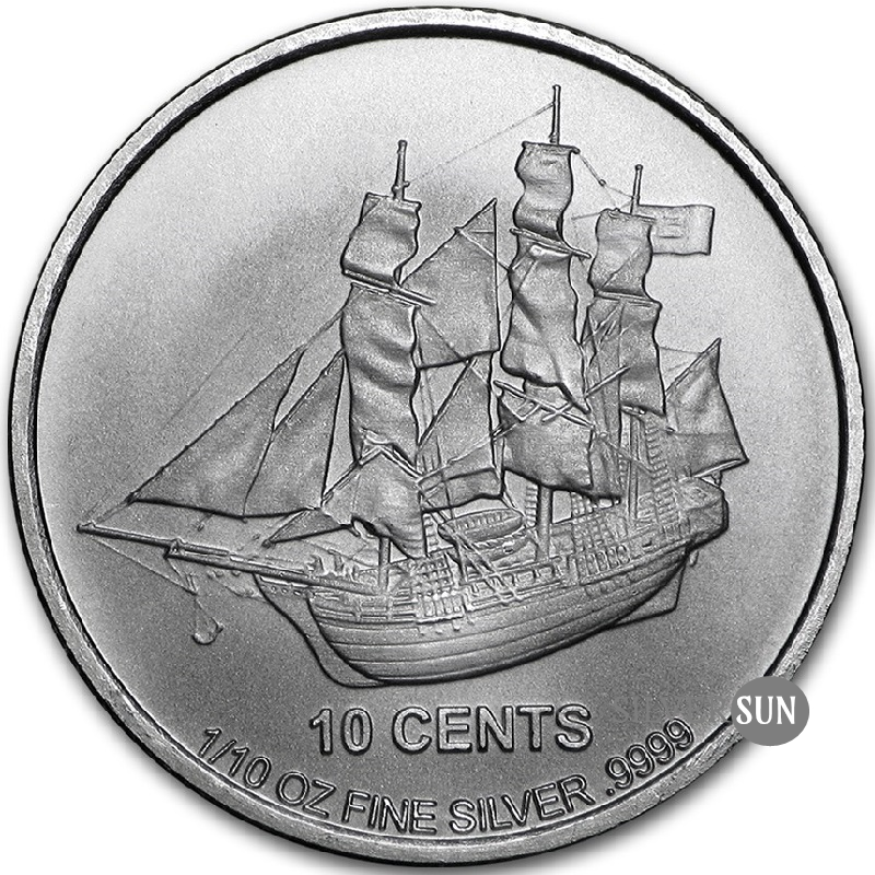 Cook Islands - Bounty 2015 1/10oz