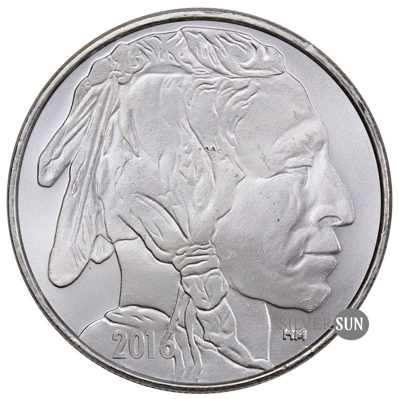 Buffalo - HM Silver Bullion Round 2016 1oz