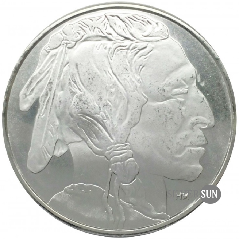 Buffalo - HM Silver Bullion Round 1oz