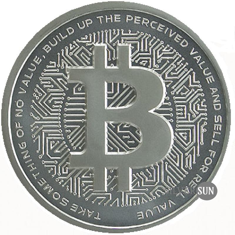 Bitcoin 2018 1oz