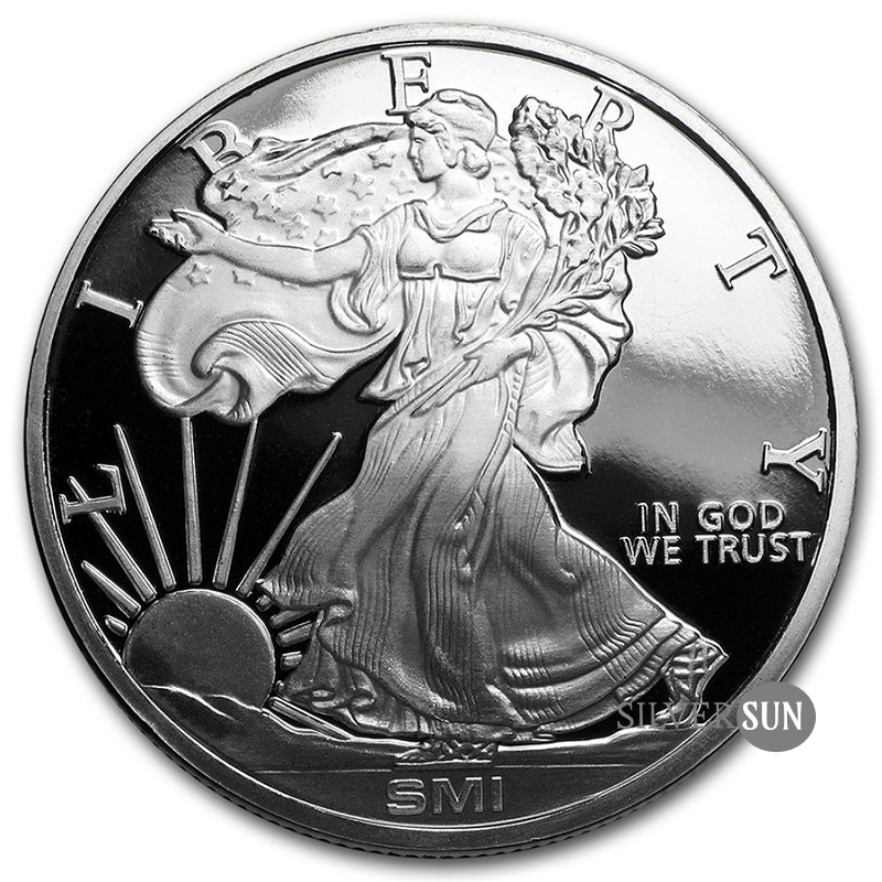 Walking Liberty SMI 1oz