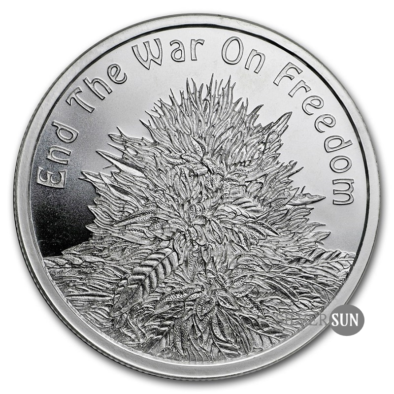 End the War on Freedom 2018 1oz