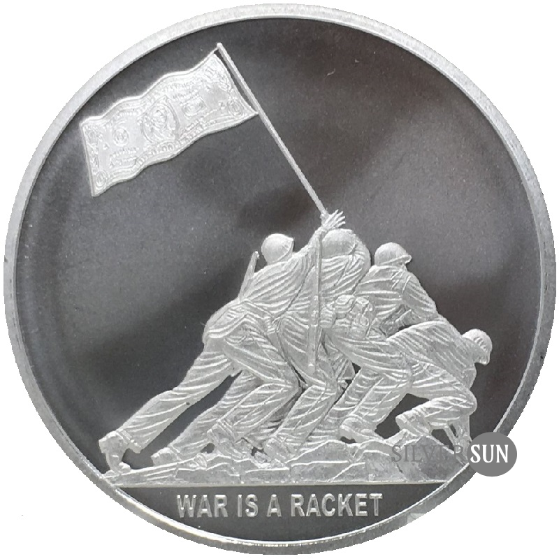 War Is A Racket 2018 1oz