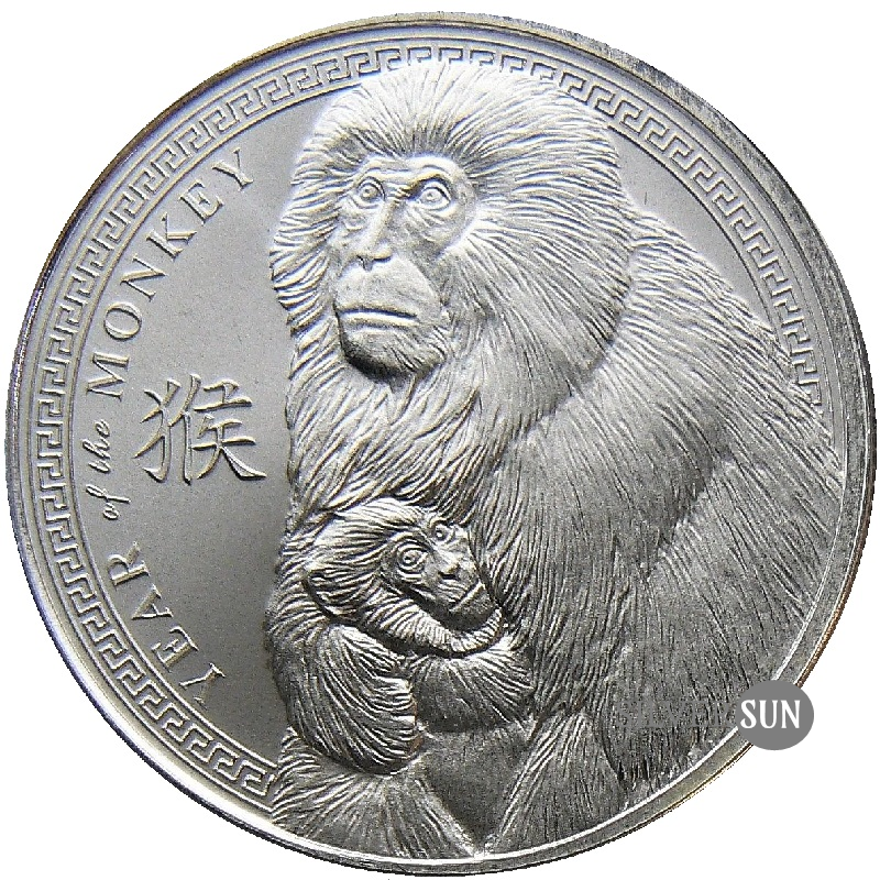 Provident Lunar - Year of the Monkey 2016 (Rok opice) 1oz