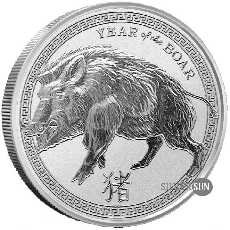 Provident Lunar - Year of the Boar 2019 (Rok diviaka) 1oz