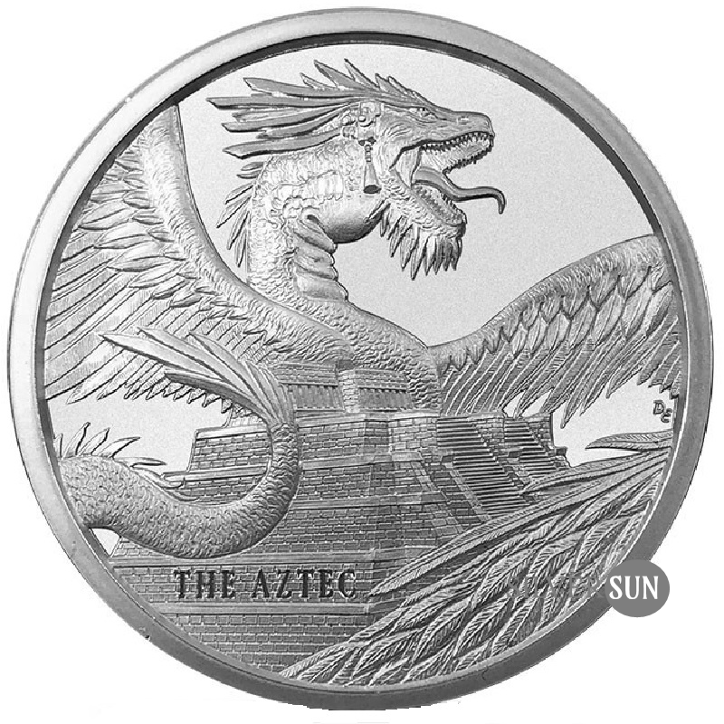 World of Dragons - The Aztec 1oz